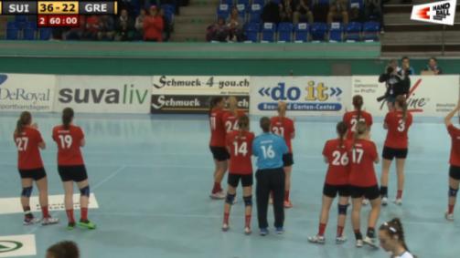 WM-Qualifikation Frauen: Schweiz - Griechenland