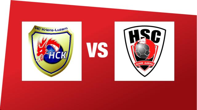 MNLA: HC Kriens-Luzern - HSC Suhr Aarau (18.11.2018 17:00)