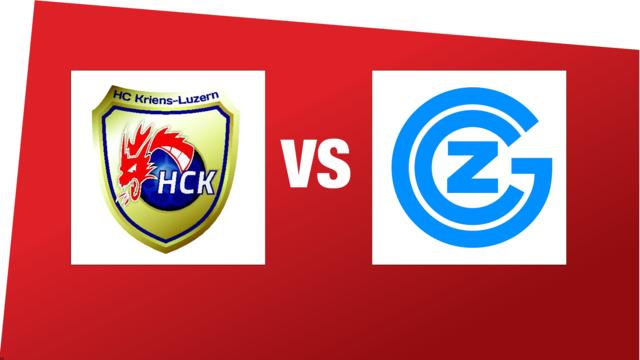 MNLA: HC Kriens-Luzern - GC Amicitia Zürich (16.12.2018 18:00)