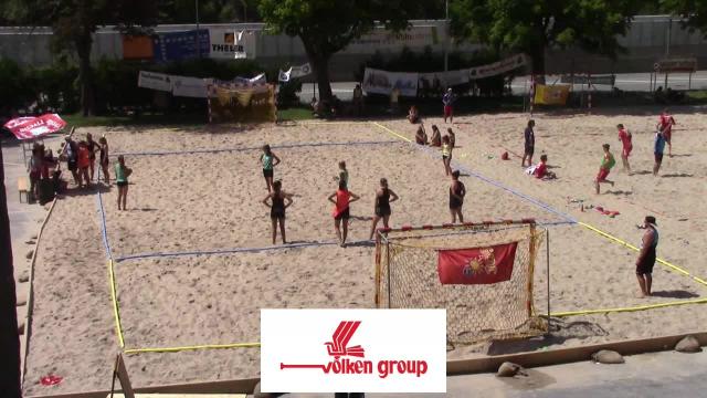 Beachhandball: Vespia Beach Nights, Finalspiele Sonntag (11.08.2019 14:50)