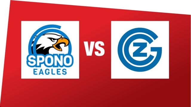 SPL1: SPONO EAGLES - GC Amicitia Zürich (19.01.2020 19:00)