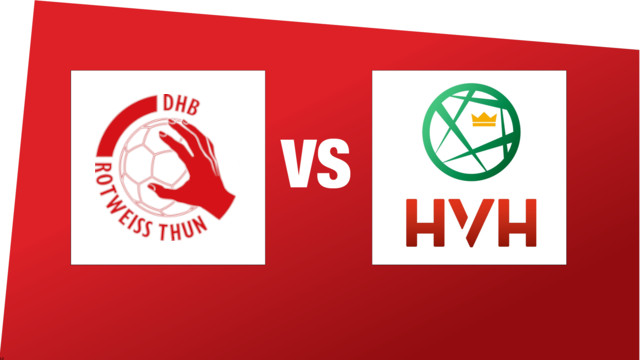 SPL1: DHB Rotweiss Thun - HV Herzogenbuchsee (16.01.2021 17:00)